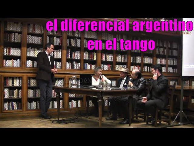 Pregunta bomba de una francesa en una mesa de debate con maestros argentinos de tango