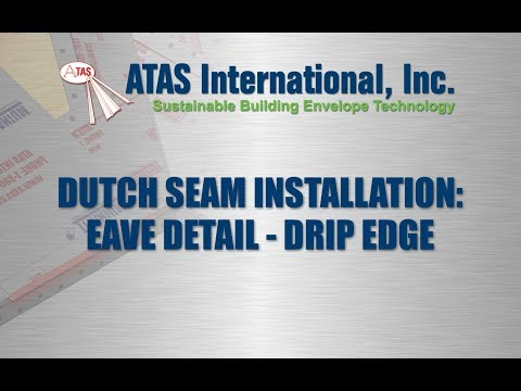 Metal Roof Installation: Drip Edge Details
