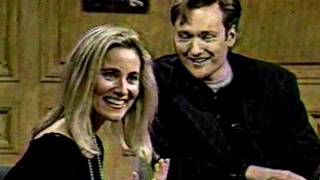 The Television Talk Show: Conan O'Brien Late Show w/guest Maureen McCormick (10-31-93)