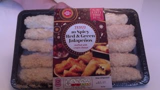 Tesco Spicy Stuffed Jalapenos Review