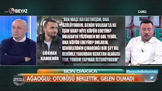 Volkan Demirel in tehdit ettiği Trabzonsporlu o isim Küme düşeceksiniz mi dedi