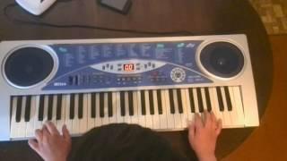 Мелодия из фильма королек птичка певчая на синтезаторе