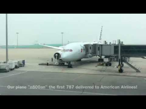 TRIP REPORT: American Airlines 787-8| Main Cabin Extra| Beijing to Dallas|