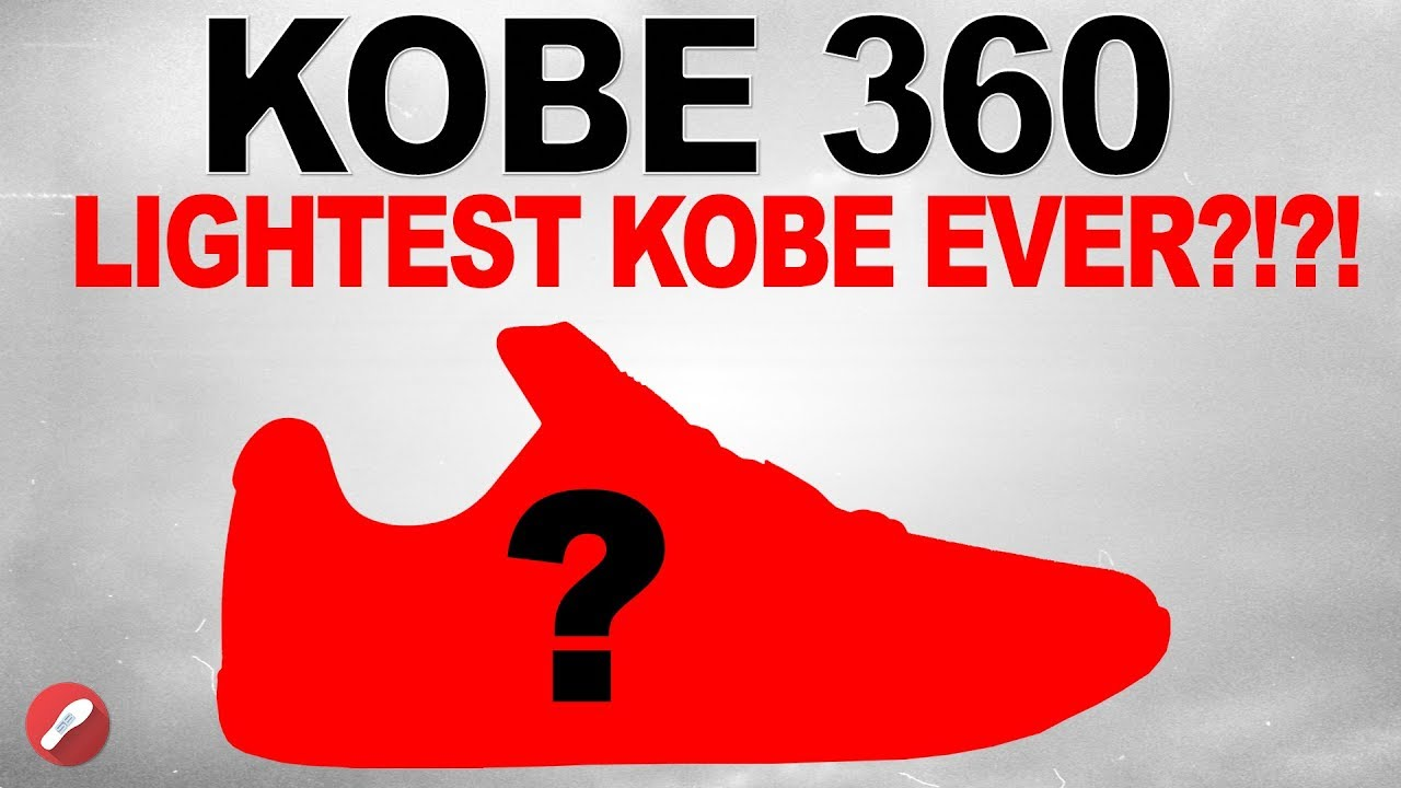 fdffd47ddd2b NEW Nike Kobe Basketball Shoe! KOBE 360! - YouTube