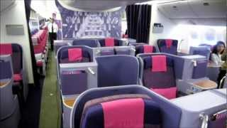 Cabin Tour : Thai Airways International