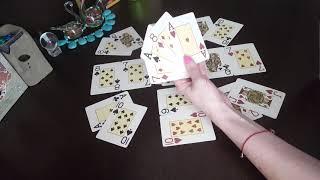 Гадание на БЫВШЕГО (короля треф) на игральных картах