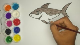 How to Draw a Shark for Kids Easy