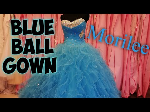 dress-no.71-|-blue-paparazzi-by-mori-lee-93037-ruffle-tulle-ball-gown-with-beading-|-بدله-خطبه-ازرق