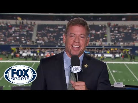 Troy Aikman responds to Jerry Jones saying Brandon Weeden throws the prettiest ball he's ever seen