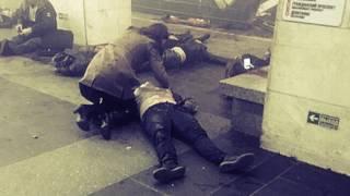 Жёсткие кадры с места теракта в питерском метро. 18+ Взрыв в метро 03.04.2017 Санкт-Петербург.