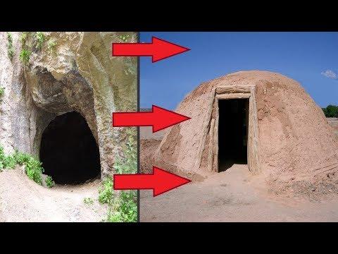 Где жили первобытные люди до нашей эры.