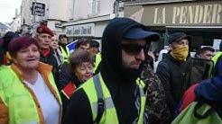 Acte 55 à Chaumont. Gilets jaunes VS Police