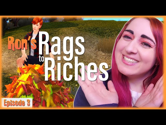 🍂It's Fall, Also RIP Dumbledore // Ep. 3 // Ron's Rags to Riches Dine Out Challenge