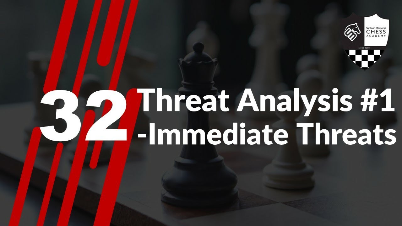 Threats in Chess Part1 Hindi शंतरज में धमकियों को कैसे समझें? Immediate Threats