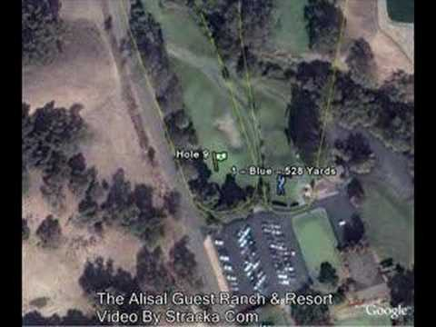 """""""The Alisal Guest Ranch & Resort (Alisal Gues"""" Flyover Tour"""