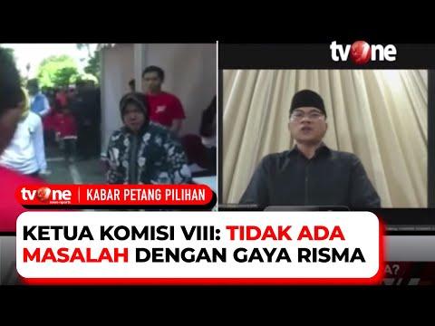 Menteri Risma Marah-marah, Memang Karakter Atau Settingan?   Kabar Petang Pilihan TvOne