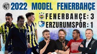 Fenerbahçe 3 - 1 Erzurumspor | Fenerbahçe Yarışı Bırakmıyor | Sosa, Valencia, Pe
