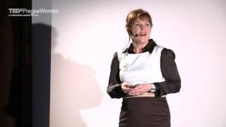 Žiju přítomným okamžikem. Žiju tady a teď: Jitka Ševčíková at TEDxPragueWomen 2013