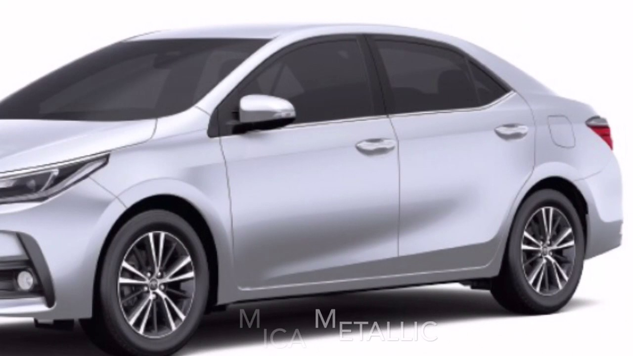 Toyota Corolla Altis 2017 Colors Colours In India