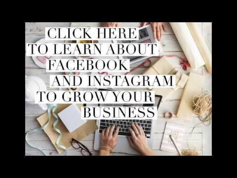 How To Start A Craft Business Useing Facebook And Instagram To Grow Your Business 101