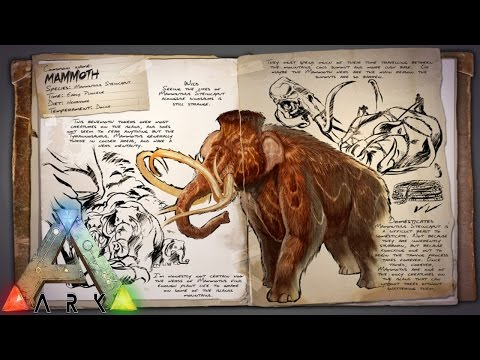 A Mammoth Excursion (ARK: Survival Evolved)