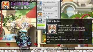 Ayumilove MapleStory Mechanic 1st 2nd 3rd 4th Job Skill Preview (2015 Black Heaven Revamp)