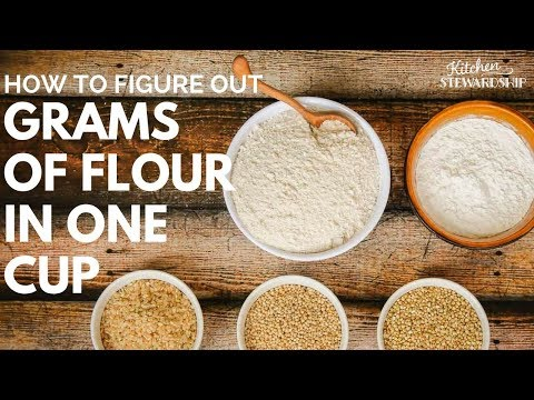 How many grams is 1 cup sugar