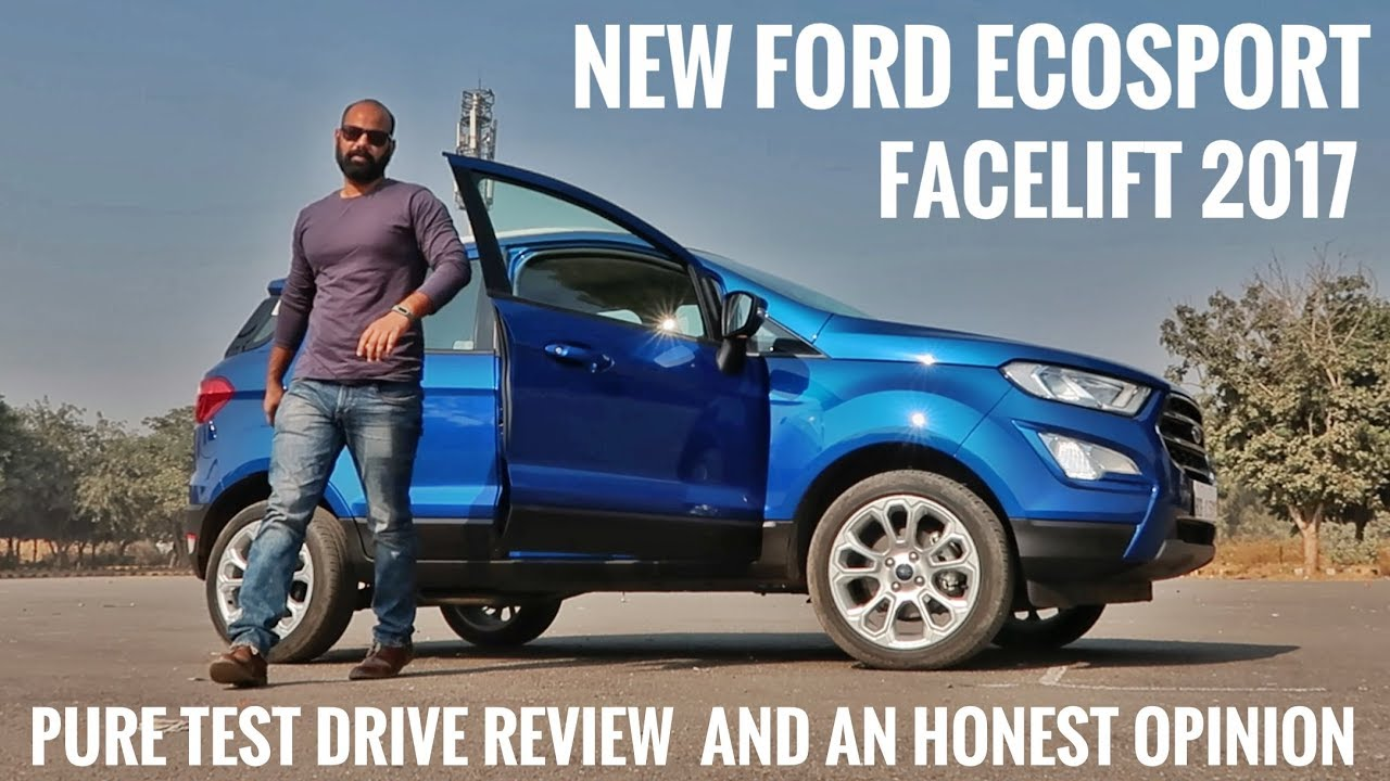 new ford ecosport facelift 2017 test drive review and an honest opinion youtube. Black Bedroom Furniture Sets. Home Design Ideas