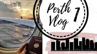 Gambar cover PERTH Vlog1 - Flug, AirBnb, Anreise Australien // annrahel