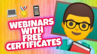 Webinars with free certificates for DepEd teachers