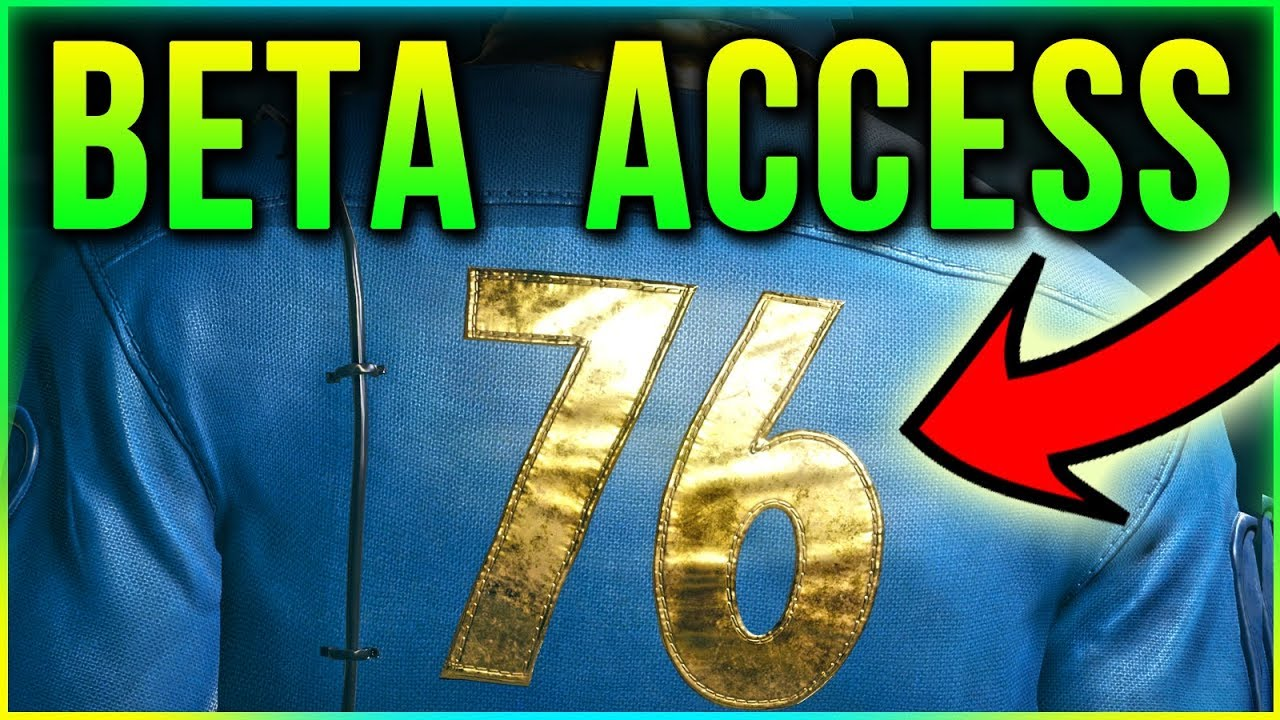 Fallout 76 Beta Access – How to Join Guide + Pre Order Bonus DLC worth it?