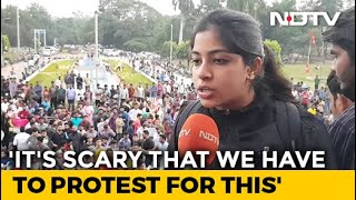 """Against Idea Of India"": Hyderabad Students Protest Citizenship Law (CAA), Register (NRC)"