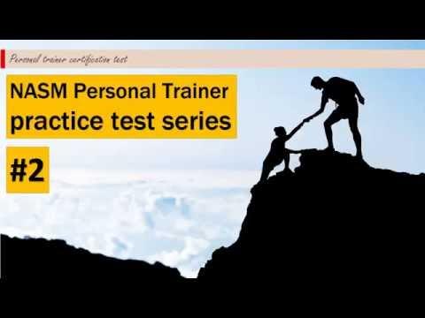 NASM Personal Trainer practice test #2