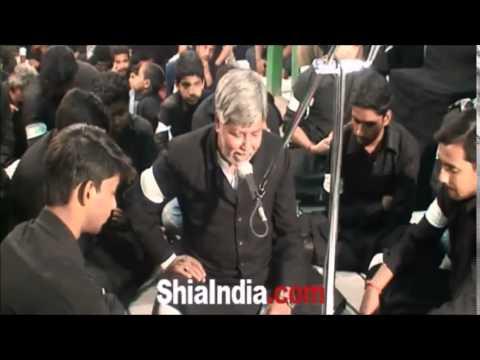 Shahadat-e-Imam-e-Raza (as) marsiya by qaiser marsiya khan