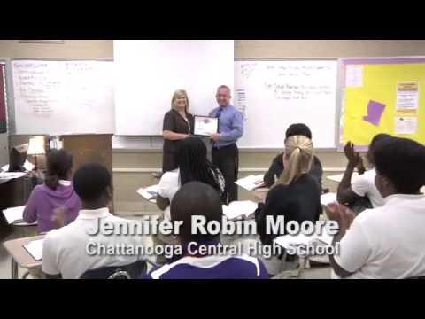 Jennifer Robin Moore  - Educator of the Week, Oct. 29, 2013