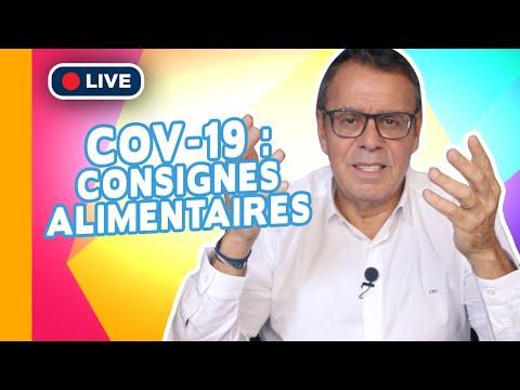 ��▶ Covid-19: Les Consignes Alimentaires