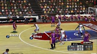 PS2 - ESPN NBA 2K5 Gameplay P.1