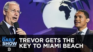 Miami Beach's Mayor Gives Trevor the Key to the City | The Daily Show