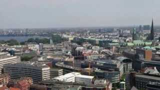 Hamburg, Rundblick vom Michaeliskirchturm