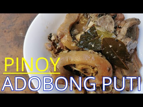 Pinoy Adobong Puti