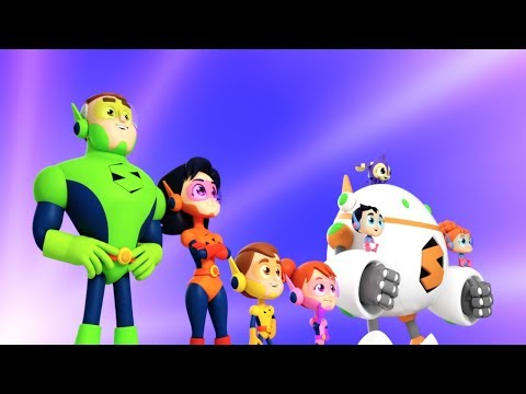 Meet The Supremes | Nursery Rhymes For Children | Superheroes Cartoons - Super Kids Network