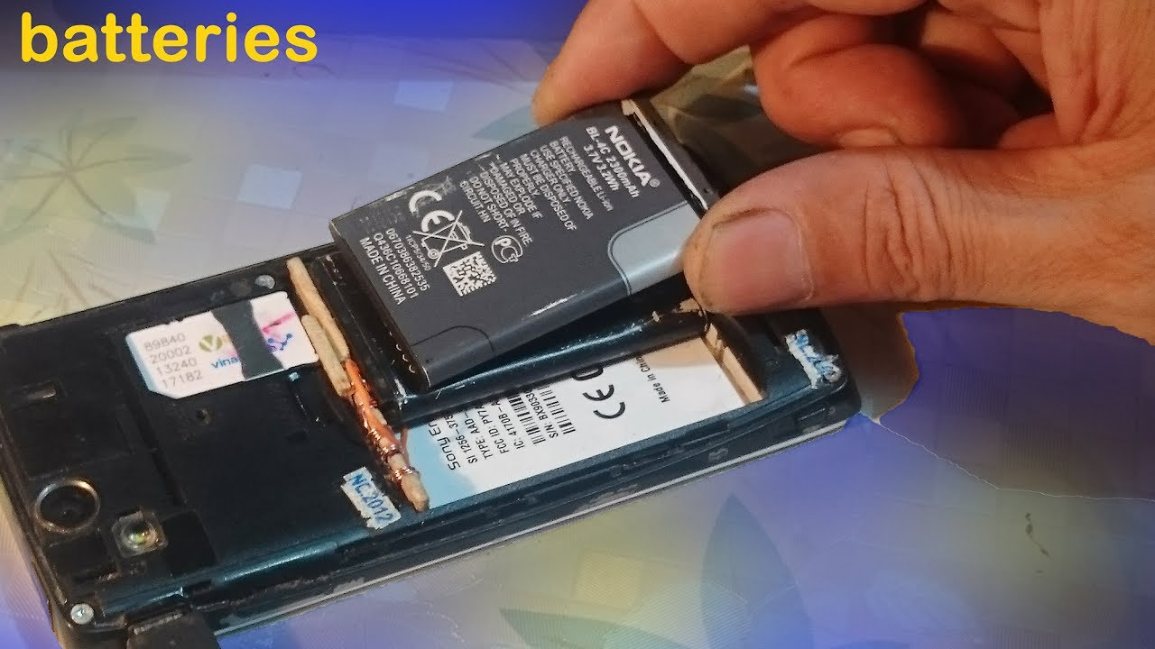 How to change the battery type for android phone, mobile