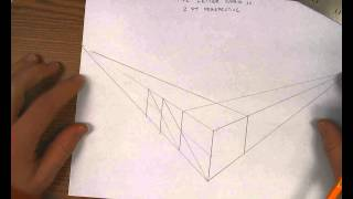 2 point perspective five letter word 1 2