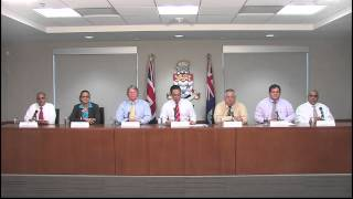 Cayman Islands Government New Cabinet