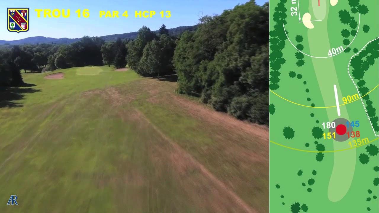 Vidéo du trou numéro 16 | Golf La Barouge Mazamet