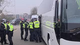 Anti-Lockdown protesters in Hillingdon