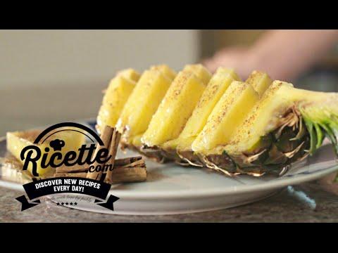 Come Servire L Ananas A Tavola.Come Tagliare E Servire L Ananas