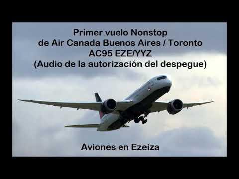 AC95 vuelo inaugural (AUDIO)