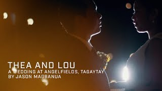 Thea and Lou: A Wedding at Angelfields, Tagaytay