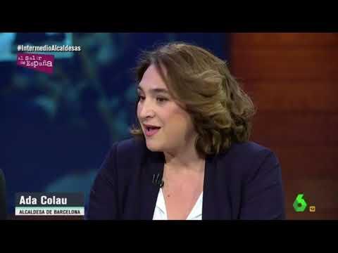 Ada Colau & Manuela Carmena